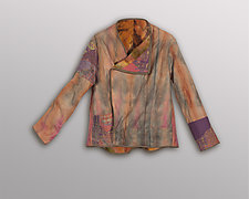 Cashmere and Linen Jacket by Uosis Juodvalkis  and Jacquie Rice  (One-of-a-Kind Jacket, M (10-12))