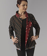 Dash Cotton Jacket by Uosis Juodvalkis  and Jacquie Rice  (Cotton Jacket, XL (18-20))