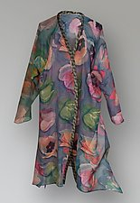 Flying Jacket - Tulips by Uosis Juodvalkis  and Jacquie Rice  (Silk Jacket)