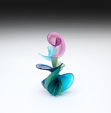 Alegria by April Wagner (Art Glass Sculpture)