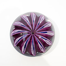 Purple Sea Star by April Wagner (Art Glass Paperweight)