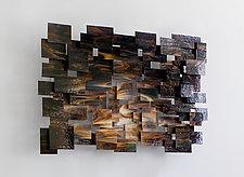 Cosmos by Karo Martirosyan (Art Glass Wall Sculpture)