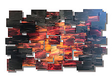 Dusk by Karo Martirosyan (Art Glass Wall Sculpture)