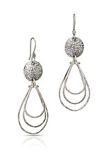 Raindrop Dangles by Susie Aoki (Silver Earrings)