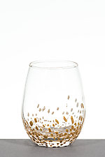 Small Star Wine Glasses by Aaron Baigelman (Art Glass Drinkware)