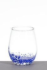 Small Star Wine Glasses by Aaron Baigelman (Art Glass Drinkware)