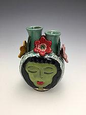 Sisters by Lilia Venier (Ceramic Vase)