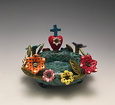 Faith and Love by Lilia Venier (Ceramic Bowl)