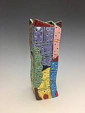 Toldeo Series Large Vase by Lilia Venier (Ceramic Vase)