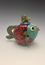 Red Snapper by Lilia Venier (Ceramic Teapot)