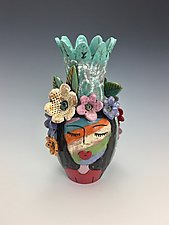 Celebration II by Lilia Venier (Ceramic Vase)