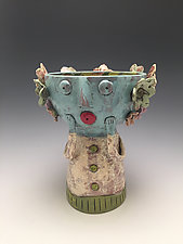 Vicki - Chalice Girl by Lilia Venier (Ceramic Vessel)