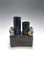 Rooftop Opera by Lilia Venier (Ceramic Vase)