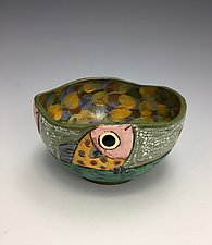 Catch Me II by Lilia Venier (Ceramic Bowl)