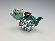 Expectations by Lilia Venier (Ceramic Teapot)