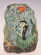 Serenade by Lilia Venier (Ceramic Wall Sculpture)