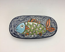 Single Life by Lilia Venier (Ceramic Platter)