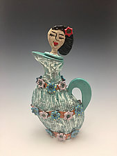 Quinceanera by Lilia Venier (Ceramic Teapot)