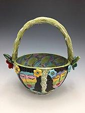 Classmates by Lilia Venier (Ceramic Vase)
