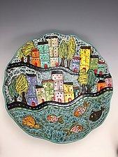 Valencia II by Lilia Venier (Ceramic Platter)
