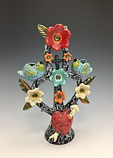 Tree of Life by Lilia Venier (Ceramic Sculpture)