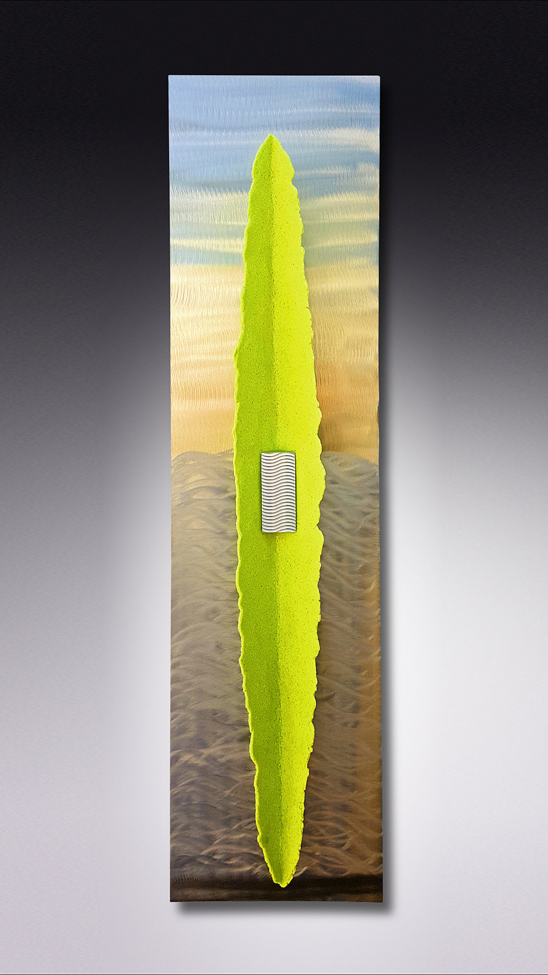 Five O Clock Beached By Kevin Lubbers Art Glass Wall