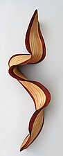Philadelphia Wave by Kerry Vesper (Wood Wall Sculpture)