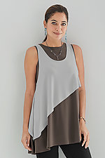 Sleeveless Matrix Tunic by Sympli  (Knit Tunic)