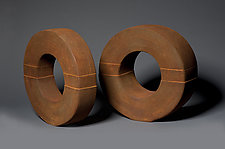 Rings by Jan Hoy (Ceramic Sculpture)