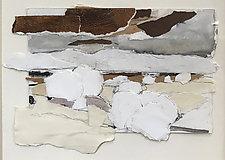 Prairie Study 1 by Meghan Wilbar (Mixed-Media Wall Hanging)