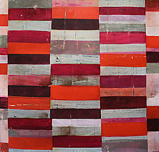 Interrupted Pattern #20 by Laura Nugent (Acrylic Painting)