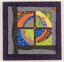 Cat's Eye by Cindy Grisdela (Fiber Wall Hanging)