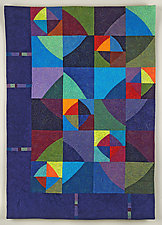 Jewel Box by Cindy Grisdela (Fiber Wall Hanging)