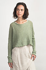 Cropped Boxy Pull by Cara May (Knit Sweater)