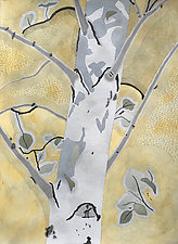 Sun and Shadows II by Meredith Nemirov (Watercolor Painting)
