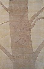 Treelines II by Meredith Nemirov (Watercolor & Ink Drawing)