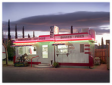 Dot's Diner by William Lemke (Color Photograph)