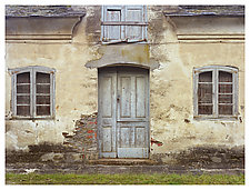 Door and Two Windows by William Lemke (Color Photograph)