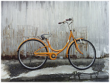 Bicycle Japan by William Lemke (Color Photograph)