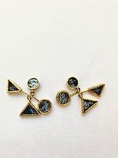 Calder Mobile Earrings by Priya Himatsingka (Gold & Stone Earrings)