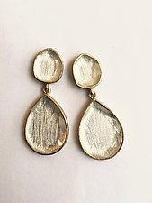 Miro Teardrop Earrings by Priya Himatsingka (Gold & Stone Earrings)