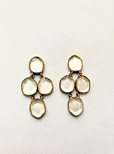 Miro Four-Drop Earrings by Priya Himatsingka (Gold & Stone Earrings)