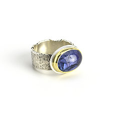 Tanzanite Reef Ring by Janet Blake (Gold, Silver & Stone Ring)