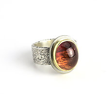Tourmaline Reef Ring by Janet Blake (Gold, Silver & Stone Ring)