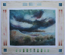 Near Traverse City by Peggy Brown (Fiber Wall Hanging)