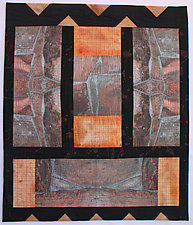 Reconstructed III by Peggy Brown (Fiber Wall Hanging)