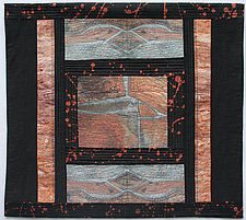 Reconstructed II by Peggy Brown (Fiber Wall Hanging)