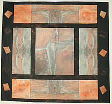 Reconstructed I by Peggy Brown (Fiber Wall Hanging)