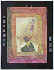 Loose Ends II by Peggy Brown (Fiber Wall Hanging)