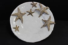Starfish Platter by Shayne Greco (Ceramic Sculpture)
